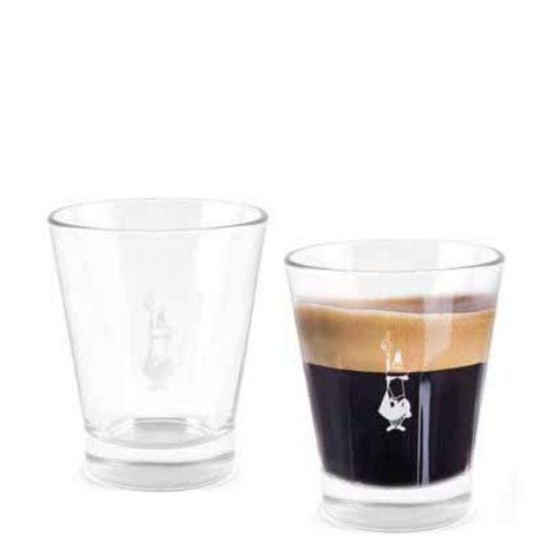 Bialetti Espressobeker glas 6 stuks