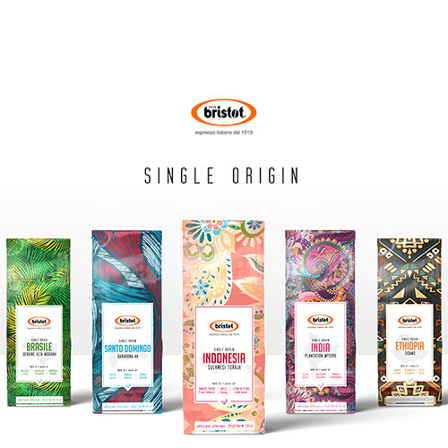 Bristot single origin bonen pakket