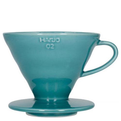 Hario V60-02 Dripper Keramiek Turquoise Green